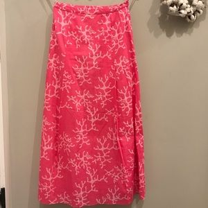 Lilly Pulitzer Women's size 2 maxi skirt